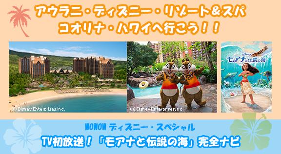 アウラニ・ディズニー・リゾート&スパ コオリナ・ハワイへ行こう!!